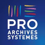 Logo bleu PRO ARCHIVES SYSTEMES