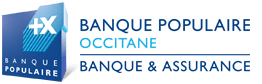 Logo Banque Populaire Occitane