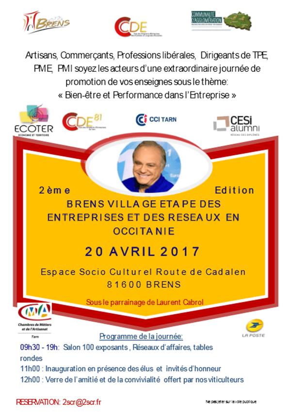 Affiche journée CDE Midi-Pyrénées Languedoc Roussillon