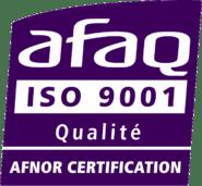 Logo norme ISO 9001 v2008